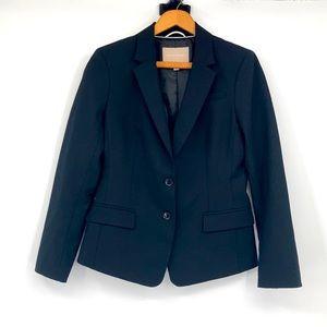 Banana Republic Wool Black Blazer Jacket